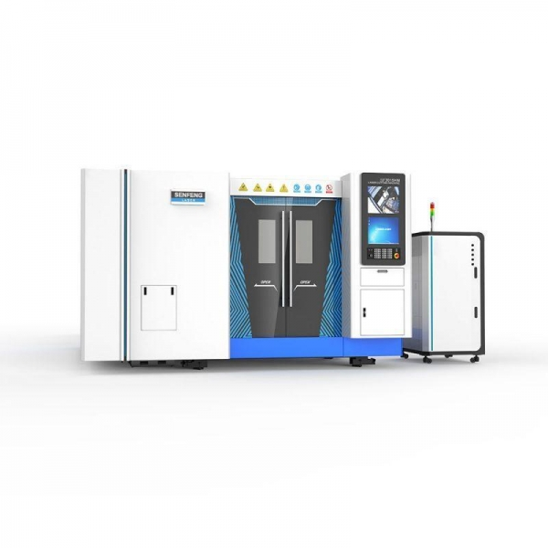 Buy cheap SF3015HM  Fully Enclosed Metal Tube And Plate Fiber Laser Cutting Machine from wholesalers