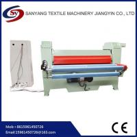 Buy cheap Flat Fabric Embossing Machine For Garments Upholstery And Furnishing product