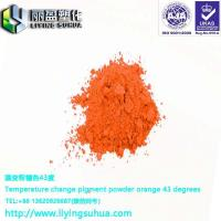 Buy cheap Clothing printing with temperature change orange 33 degrees product
