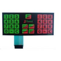 Buy cheap Anti Corrosion Multiple Dome Custom Membrane Keypad For TV Remote Control from wholesalers