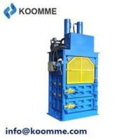 Buy cheap Waste Balers & Recycling Compactors Cardboard Bailing Compressing Machine from wholesalers