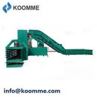 Buy cheap Used Cans and Bottles Baler Pressing Machine with Conveyor Belt Feeding from wholesalers