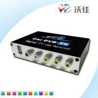 Buy cheap HDTV Car DVB-T2 Multi PLP Digital TV Receiver automobile DTV box Two Tuner from wholesalers