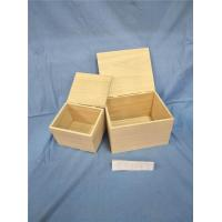 Buy cheap Wooden Gift Box with Hinge product