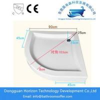 Buy cheap Walk in shower tray shower cubicles trays from wholesalers