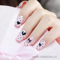 Buy cheap fashion beauty water transfer decal nail printing gel polish sticker from wholesalers