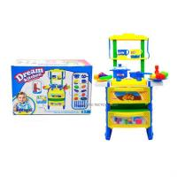 Buy cheap Blue pretend play kitchen toys preschool toys from wholesalers