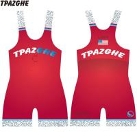 Buy cheap Cheap custom sublimated wrestling singlets product