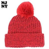 Buy cheap custom printing patch winter speckled pom beanie hat for man from wholesalers