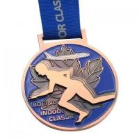 Buy cheap Wholesale Make Metal Medal Custom Marathon Medal Gold Silver Bronze Medals from wholesalers
