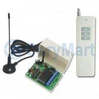 Buy cheap 2000M 1 Channel Tri-mode Forward & Reverse DC 9V 12V 24V Motor Remote Control Kit from wholesalers