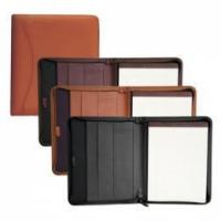 Buy cheap Zippered Script Padfolio from wholesalers