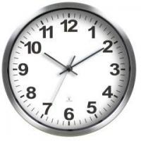 Buy cheap Radio control metal wall clock Item No.: A3312RC.FM from wholesalers