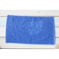 Buy cheap Soft textile cotton jacquard blue gym towel import towel factory from wholesalers