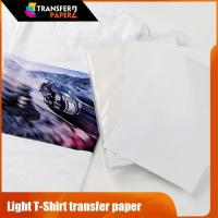 Buy cheap ink-jet light tshirt iron on transfer paper price low from wholesalers