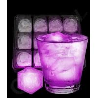 Buy cheap LED Light Up Ice Cubes - Pink from wholesalers