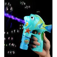 Buy cheap LED 6 Inch Bubble Gun - Fish from wholesalers