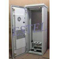 Buy cheap Tower Installed Telecom Cabinet, IP55, With Heat Exchanger and Fans, Aluminum Cabinet from wholesalers