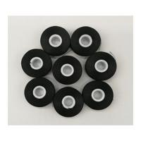 Buy cheap Black Bobbin sideless Size L 70D/2 Polyester thread for Embroidery 144pcs in a case from wholesalers