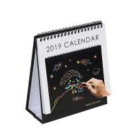 Buy cheap Custmized Spiral Type Card Paper Material Table Calendar from wholesalers
