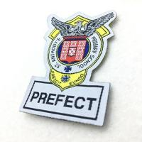Buy cheap Design Custom High Quality Saint Seiya Military Uniform Embroidery Woven Frame Patches from wholesalers