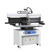 Buy cheap Touch screen Manual stencil printing machine / solder paste printer from wholesalers