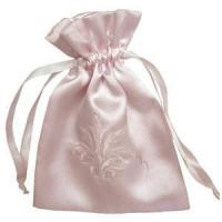 Buy cheap Pretty printed satin chocolate gift bags from wholesalers