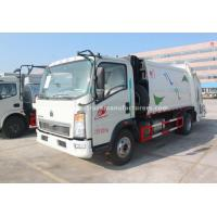 Buy cheap Sinotruk HOWO Manuel 8CBM New Power Wheel Garbage Truck from wholesalers