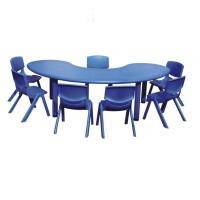 Buy cheap HS-E108 kindergarten furniture cheap kids plastic tables and chairs from wholesalers