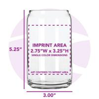 Buy cheap Bar Glasses 16 oz. Can Glass from wholesalers