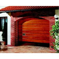 Buy cheap Sectional Solid Wood Garage Door SCD from wholesalers