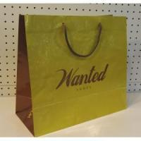 Buy cheap Gloss lamination paper bags with handles from wholesalers