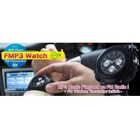 Buy cheap FMP3 Watch - MP3 Player FM Transmitter Voice Recorder Watch from wholesalers