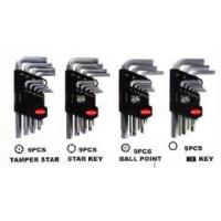 Buy cheap 9PCS HEX KEY WRENCH SET with plastic holder from wholesalers